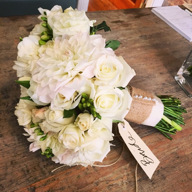 Instagram - Bridal bouquet for gorgeous Jodie! #congratulations #autumnwedding #