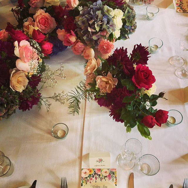 Bridal Table Garden for Ruth and David at Tonic #millthorpe #botanicaflora #summerwedding #orangensw