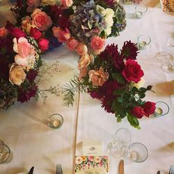 Bridal Table Garden for Ruth and David at Tonic #millthorpe #botanicaflora #summerwedding #orangensw