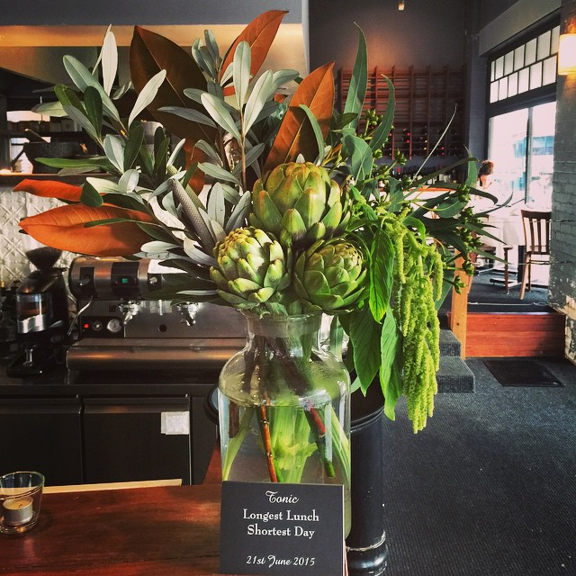 Instagram - Afternoon install... Tonic restaurant in #millthorpe  Amaranthus, ar