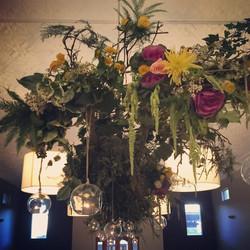 Instagram - Flower chandelier at Tonic for yesterday's winter wedding #tonic #mi