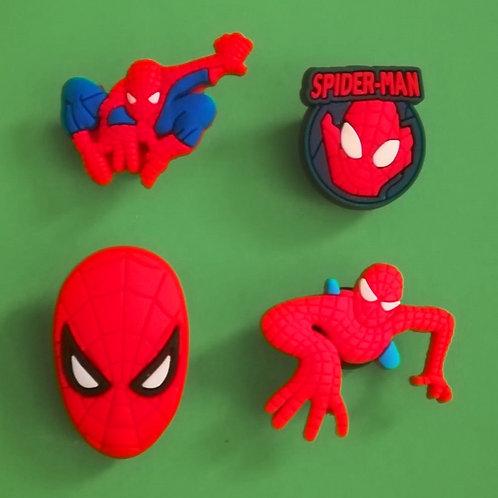 4pcs / Spiderman - 2D
