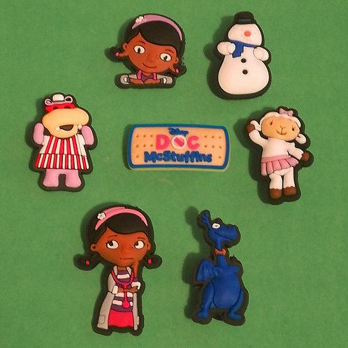 7pcs / Disney Doc McStuffins - 2D