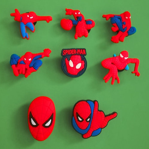 8pcs / Spiderman - 2D