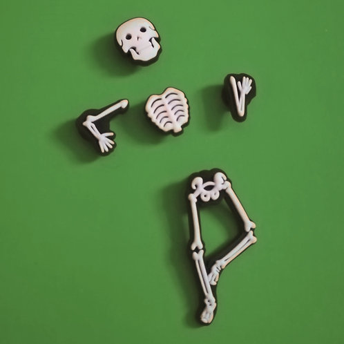 5pcs / 1 Skeleton - 2D