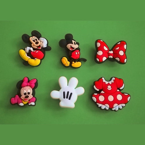 6pcs / Disney Mickey & Friends - HQ