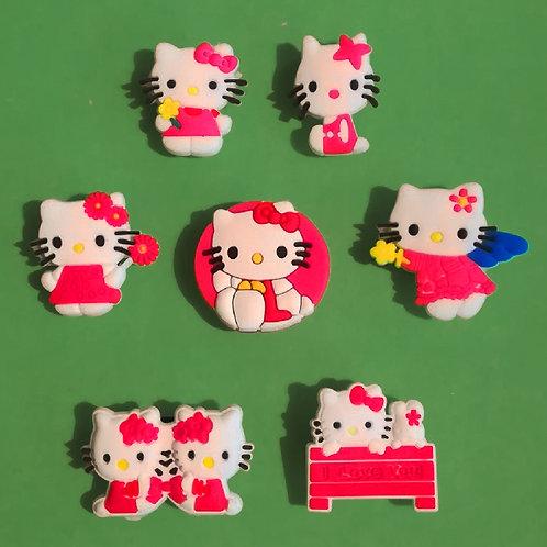 7pcs / Hello Kitty - 2D