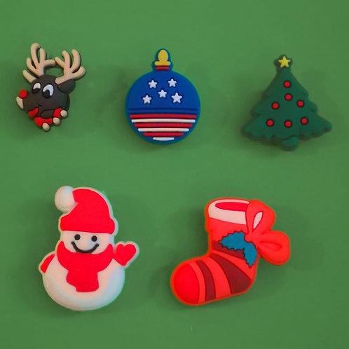 5pcs / Christmas Theme - 2D