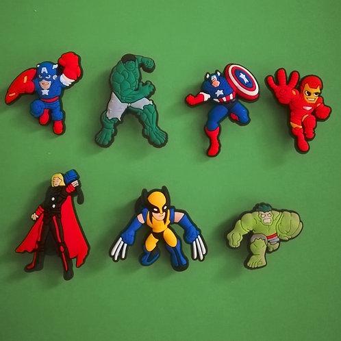 7pcs / Avengers - 2D