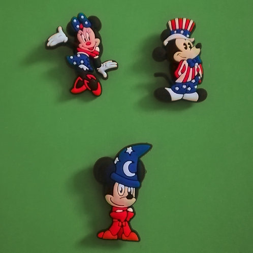 3pcs / Disney Mickey Mouse & Friends - 2D