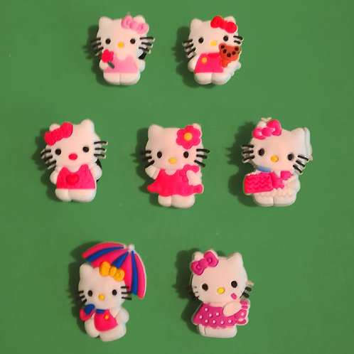 7pcs / Hello Kitty - 2D