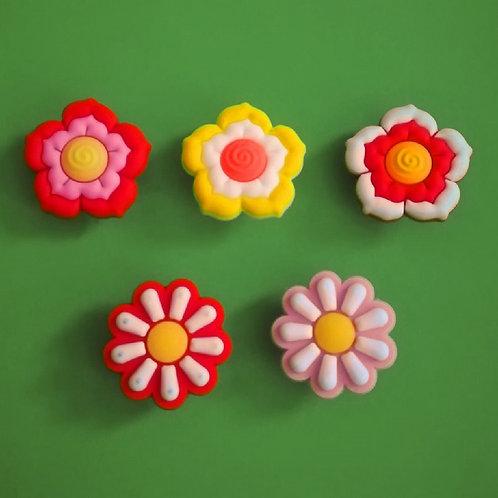 5pcs / Flowers - 2D