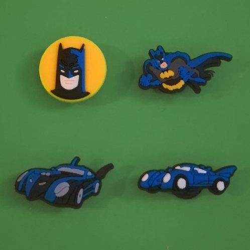 4pcs / Batman - 2D
