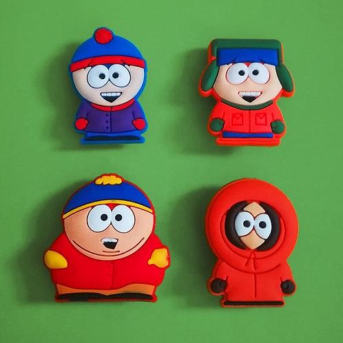 4pcs / South Park - 2D