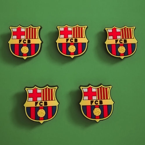 5pcs / Barcelona Badge - 2D