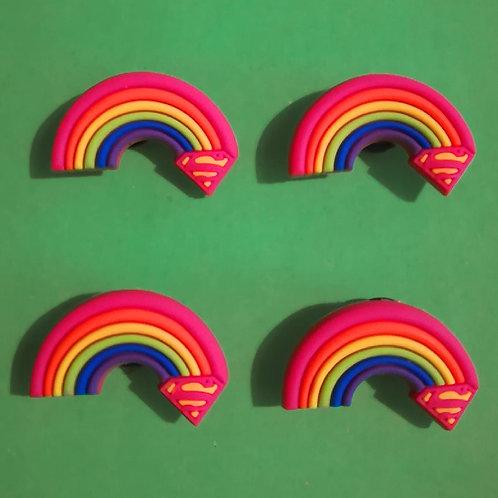 4pcs / Rainbow - 2D