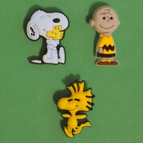 3pcs / Snoopy - 2D