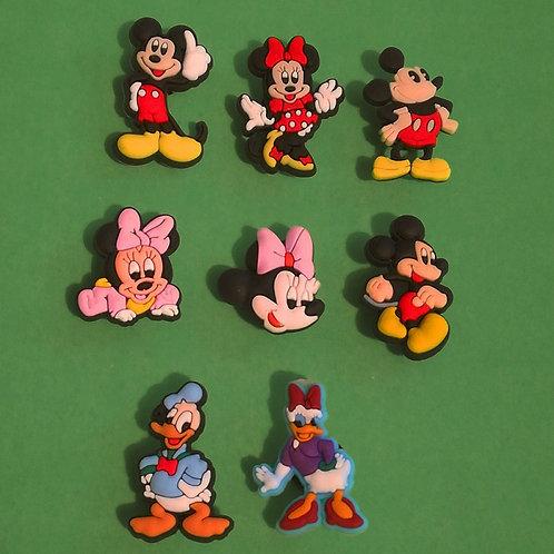 8pcs / Disney Mickey Mouse & Friends - 2D