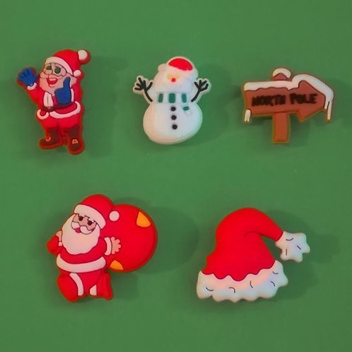 5pcs / Christmas Theme - 2D