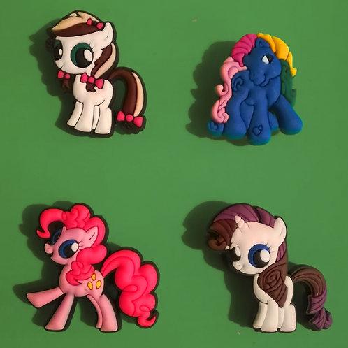 4pcs / My Little Pony - 2D