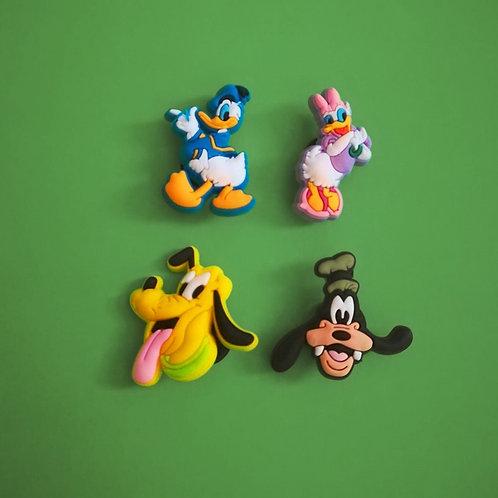 4pcs / Disney Mickey & Friends - HQ