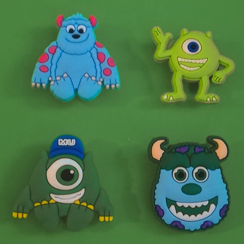 4pcs / Monsters University - 2D