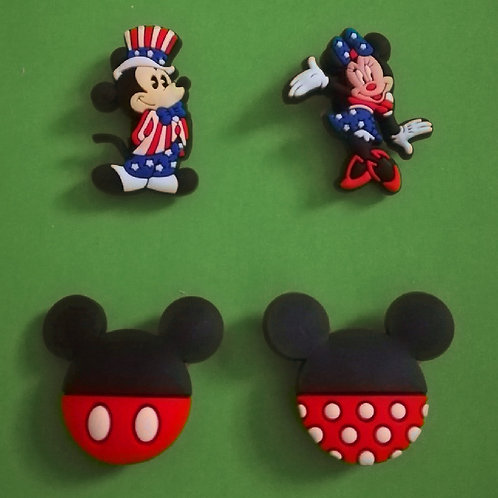 4pcs / Disney Mickey Mouse & Friends - 2D