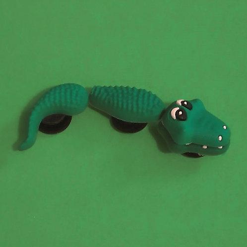 3pcs / 1 Green Crocodile - 3D