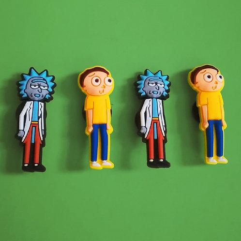 4pcs / Rick & Morty - 2D