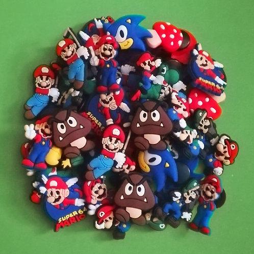 50pcs / Super Mario - 2D