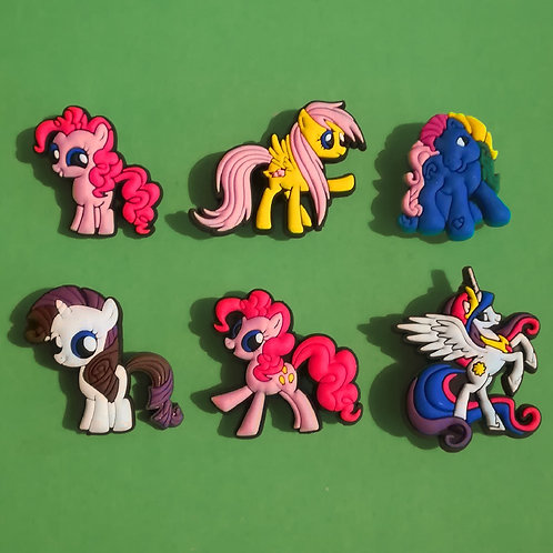6pcs / My Little Pony - 2D