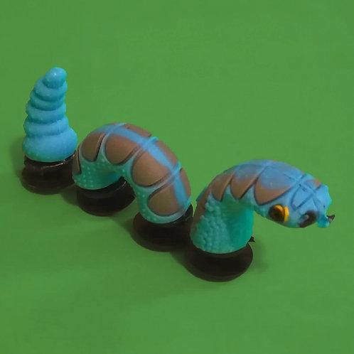 3pcs / 1 Blue Snake - 3D