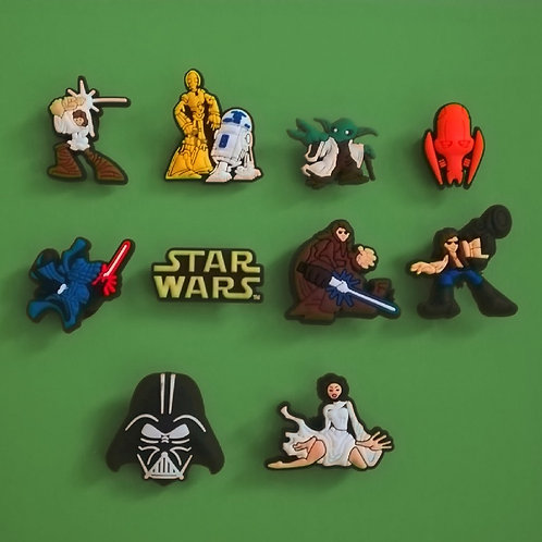 10pcs / Star Wars - 2D