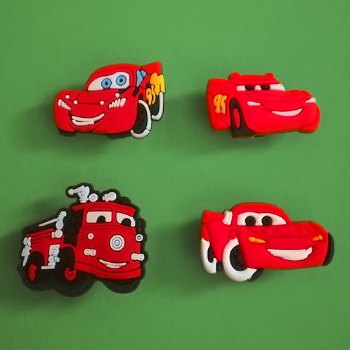 4pcs / Disney Cars - 2D