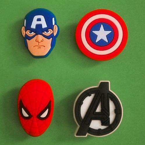 4pcs / Avengers - 2D