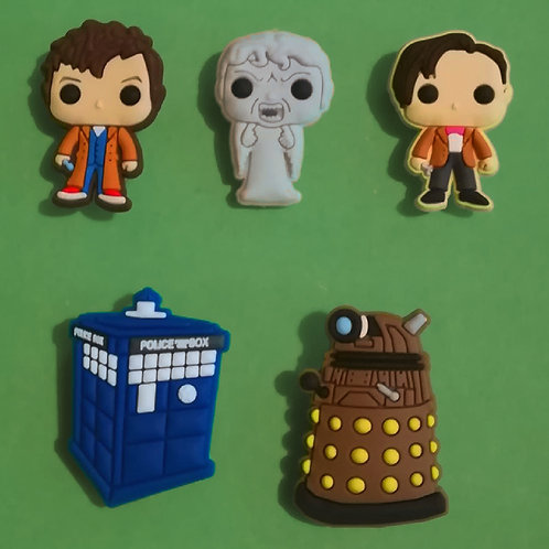 5pcs / Doctor Who - 2D