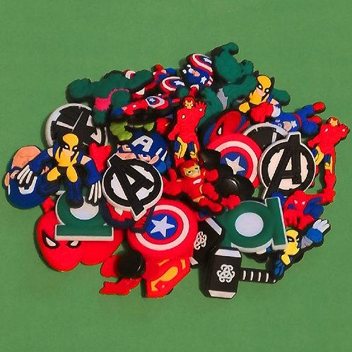50pcs / Avengers - 2D