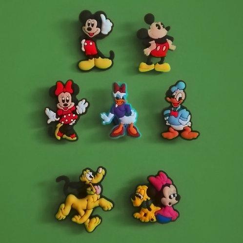 7pcs / Disney Mickey Mouse & Friends - 2D