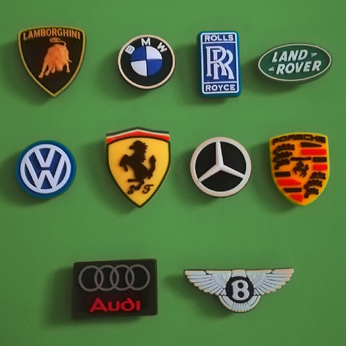 10pcs / Car Logo - 2D
