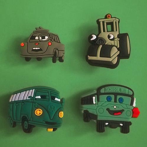 4pcs / Disney Cars - 2D