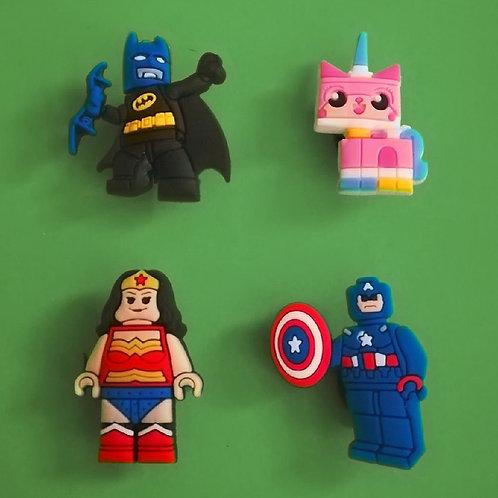 4pcs / Lego Avengers - 2D