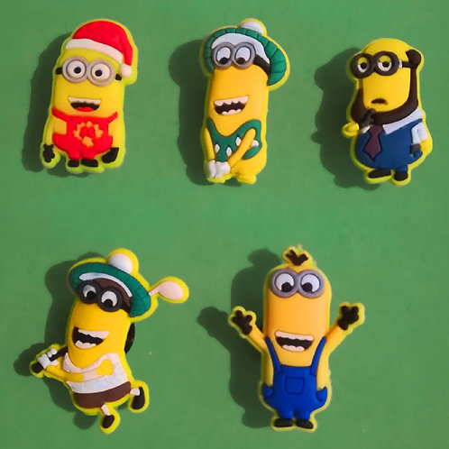 5pcs / Despicable Me Minions - 2D