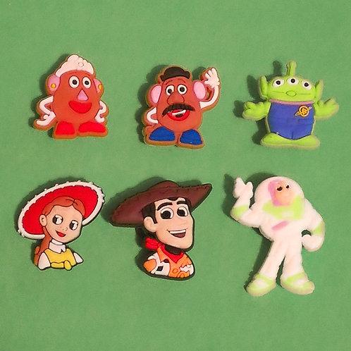 6pcs / Toy Story - 2D
