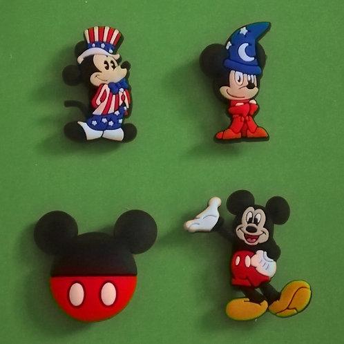 4pcs / Disney Mickey Mouse & Friends - 2D