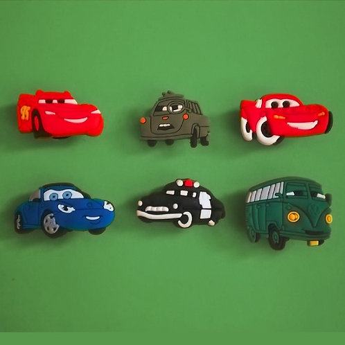 6pcs / Disney Cars - 2D