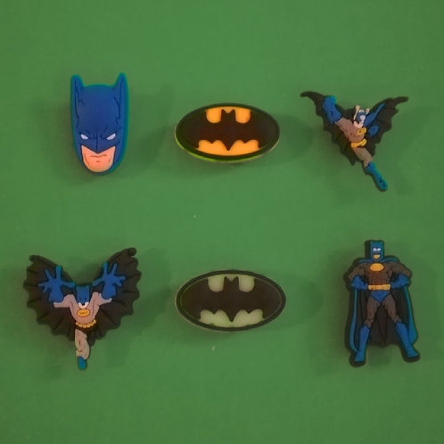 6pcs / Batman - 2D