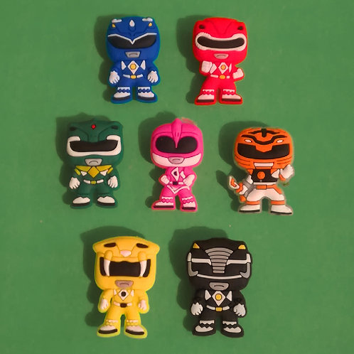 7pcs / Power Rangers - 2D