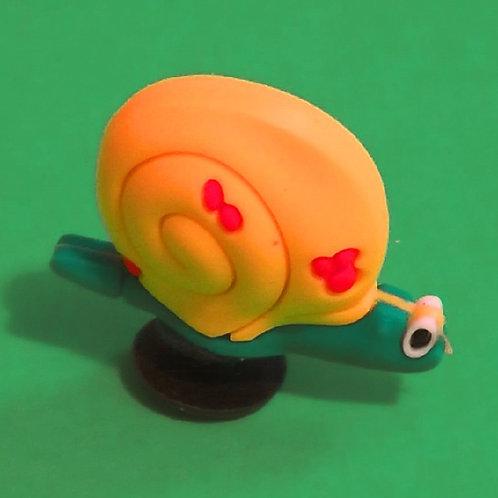 2pcs / Yellow Snail - 3D
