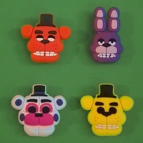 4pcs / Five Nights At Freddy's - 2D
