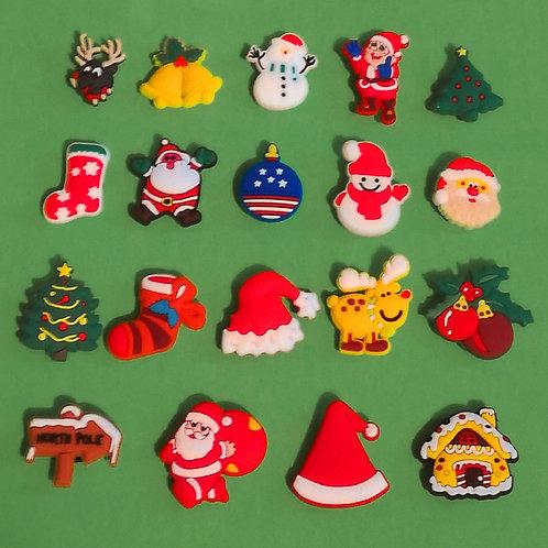 19pcs / Christmas Theme - 2D